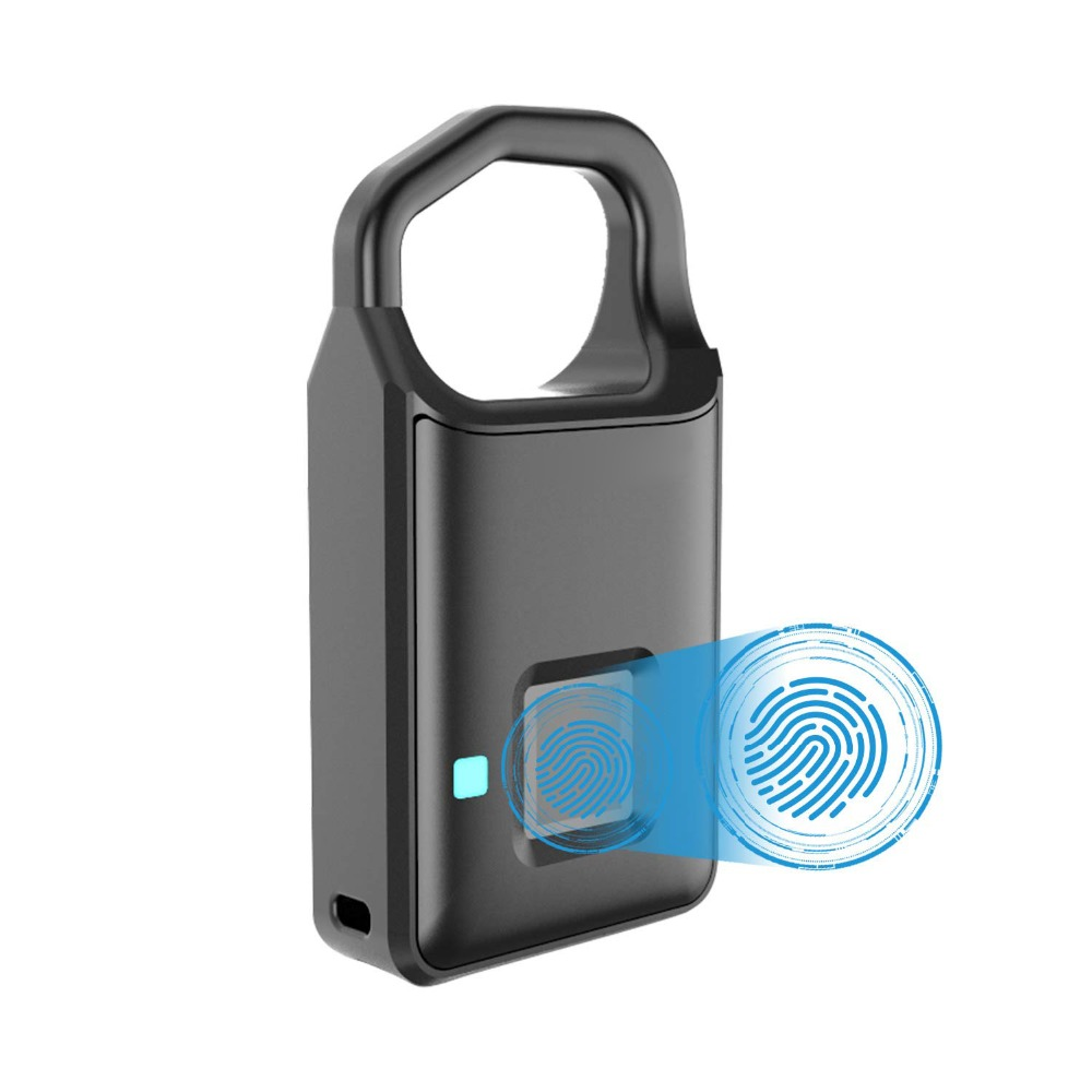 Smart Fingerprint Lock Security Lock Touch Keyless Anti-Theft USB charge & ONLY Zipper Head for Suitcase, handbag, LuggageSmart Fingerprint Lock Security Lock Touch Keyless Anti-Theft USB charge & ONLY Zipper Head for Suitcase, handbag, Luggage