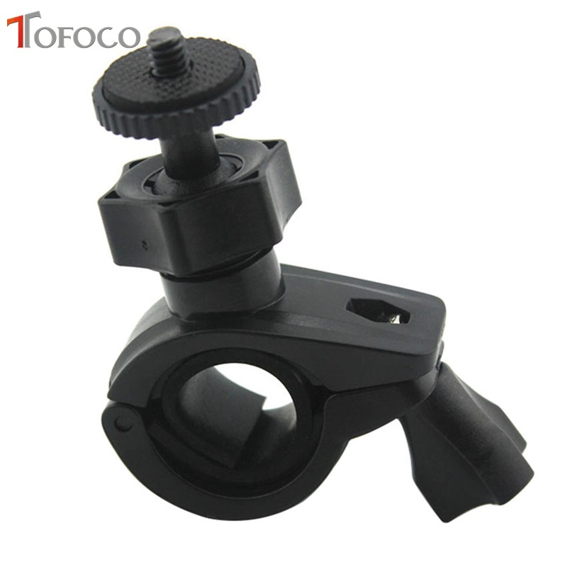 TOFOCO Bicycle Screw Mount Holder Handlebar Clip Mount Bike Clip Bracket For Gopro Hero 3/hero 2/HD Hero Camera High Quality