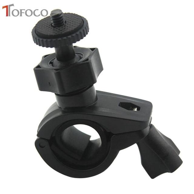 TOFOCO אופניים בורג הר מחזיק כידון קליפ הר אופני קליפ סוגר עבור Gopro hero 3/גיבור 2/HD גיבור מצלמה באיכות גבוהה