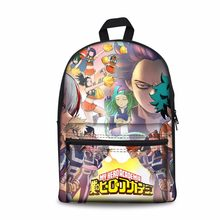 My Hero Academia Backpack japanese school bags teenager girls boys students schoolbag bookbag packbag kids mochila escolar 2018(China)