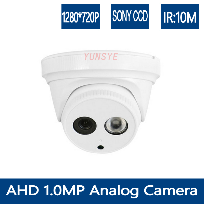 YUNSYE  CCTV HD AHD Indoor CAMERA 2PCS IR Color 1/4 CMOS Sensor 720P 1200TVL Security Cameras with IR-CUT Lens Free Shipping 8ch ahd 960h d1 recording cctv standalone hybrid dvr recorder 8ch 700tvl color cmos ir weatherproof indoor dome cameras