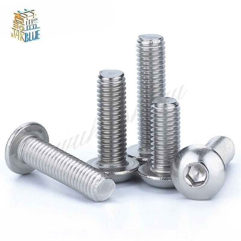 Lot de 10/vis M10/x 30/Roue /à six pans creux DIN 912/A2/en acier inoxydable