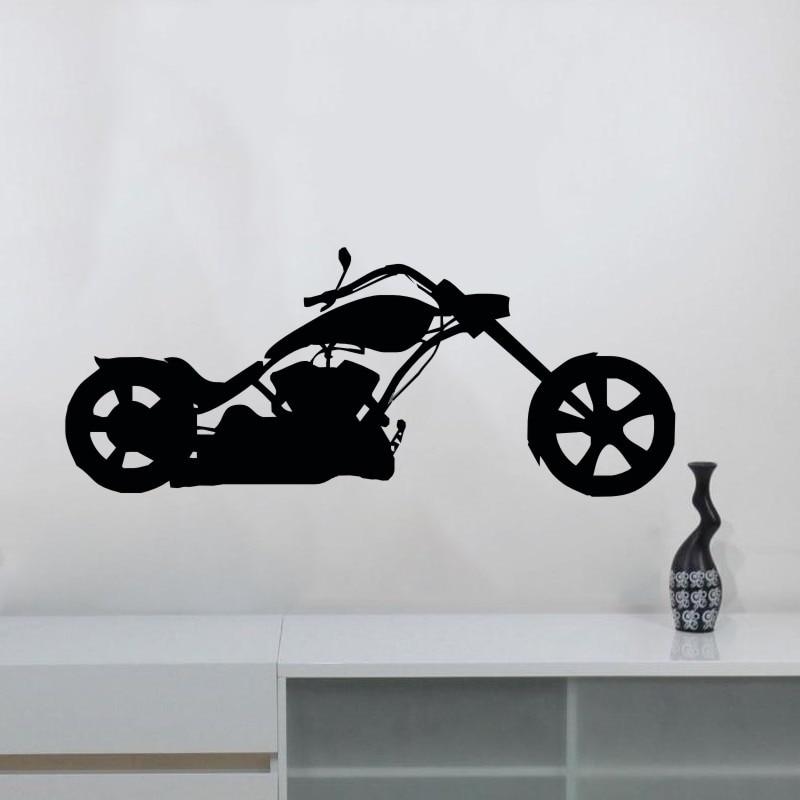 Para Decoración Pared Diseño De Vinilo Dctop Decalques Bikers Nuevo j4LR5A