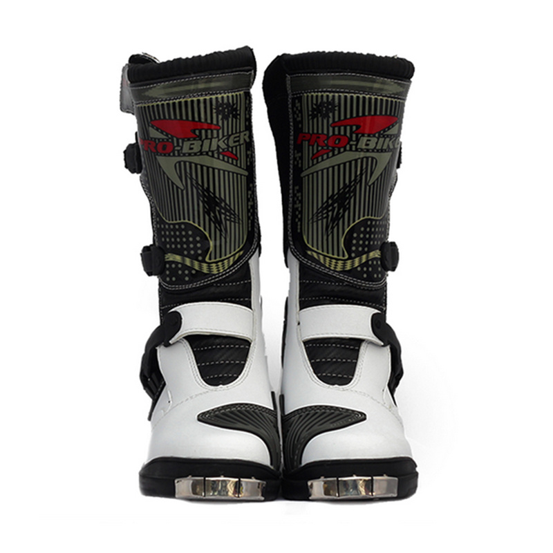 PRO-BIKER Motorcycle Riding Boots SPEED Motorcycle Sports Boots Men's Motocross Racing Shoes Moto Boots Off-Road Protective Gear