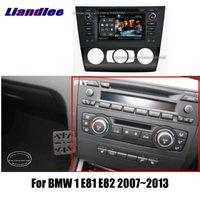 Liandlee 2 din Car Android пульт дистанционного управления для BMW 1 E81 E82 2007 ~ 2013 радио gps Карты Map навигация плеер HD Экран BT WI FI медиа Системы