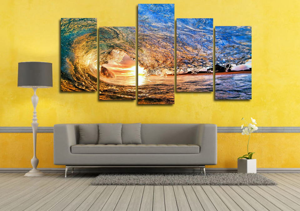 Unique Ocean Murals Wall Decor Motif - Wall Art Collections ...