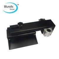 Z оси сборки пластины для 3D принтер для DLP 3D части принтера DIY форме Z алюминиевая ось платформа для изготовления комплект черный анодированн
