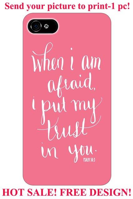 psalm 56 3 pink girly bible verse plastic hard 4 4s 5 5s 5c 6 6s