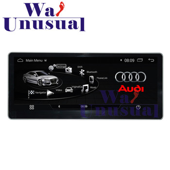 "WANUSUAL 10.25"" Quad Core 16G Android 4.4 Car Multimedia Player For Audi A4L 2017 GPS Navigation with BT WIFI 3G Maps 1024*600"