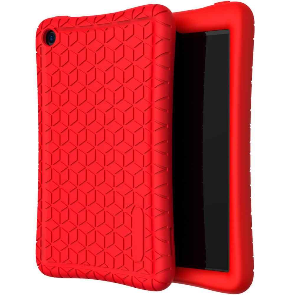 Funda protectora de silicona de 7 pulgadas para Amazon New Fire 7 Tablet