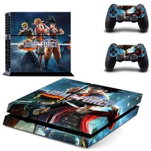 Jump Force One Piece Dragon Ball PS4 Skin Sticker Decal For Sony PlayStation 4 Console and 2 Controllers PS4 Skins Sticker Vinyl