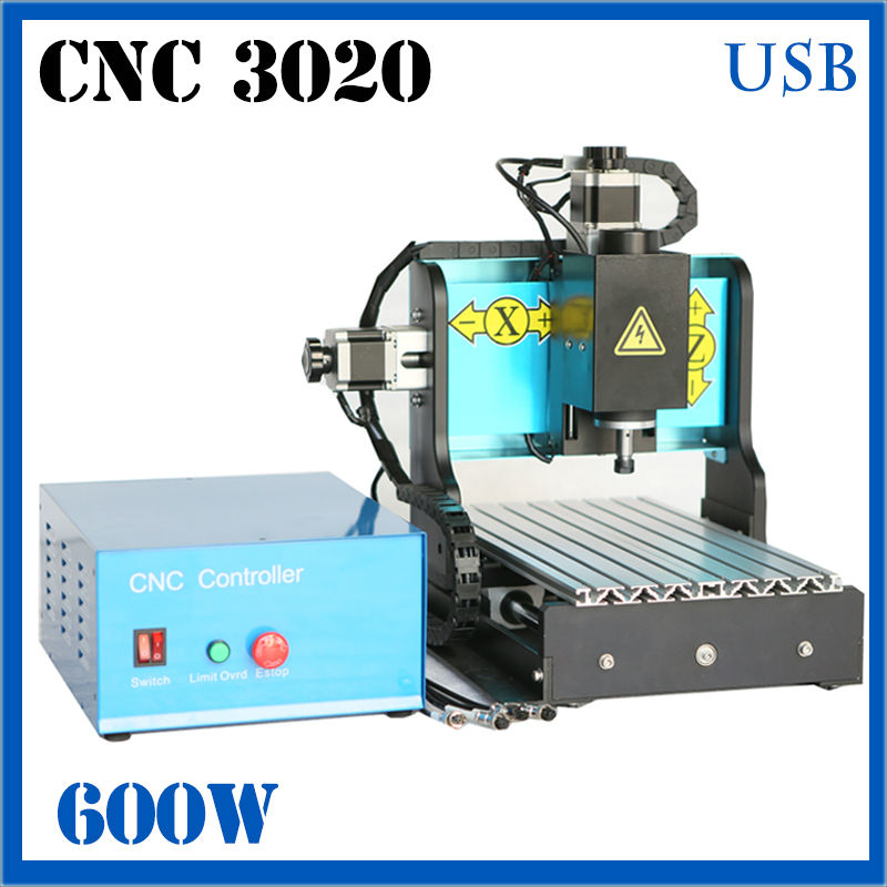 JFT 3D Engraving machine 3 Axis Homemade CNC Router 600W High Speed CNC Router Cutting Machine with USB 2.0 Port 3020 купить