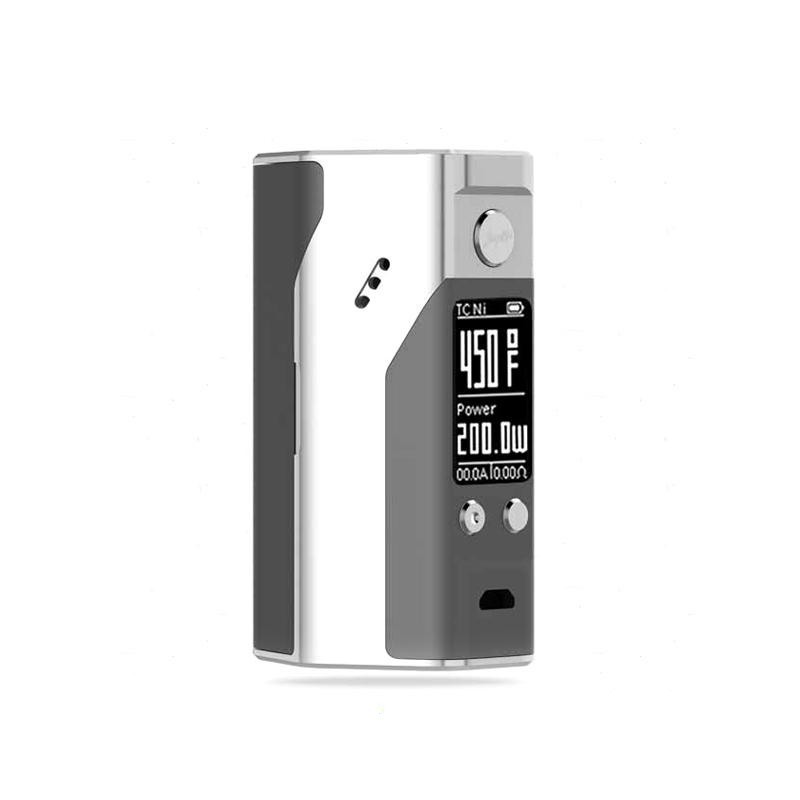 100% Original Wismec Reuleaux RX200S TC 200W OLED Screen Box Mod with Upgradeable Firmware Reuleaux RX200S-3