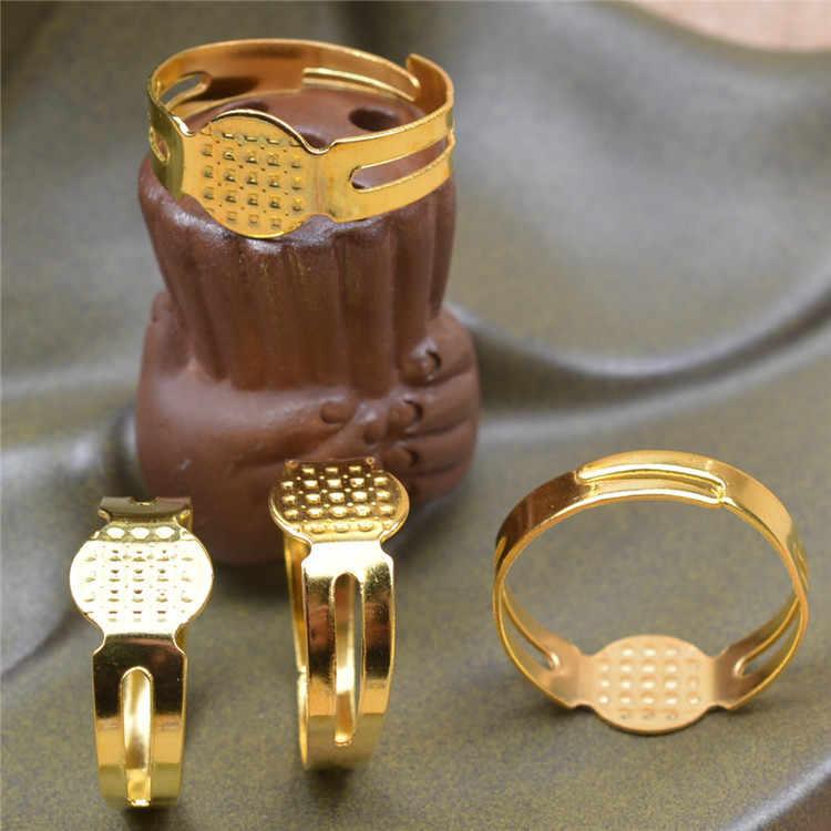 1pcs สุ่มสีสันแหวนเหล็ก Rose Gold Anti-allergy Smooth งานแต่งงานคู่ Bijouterie สำหรับชายหรือหญิงของขวัญขายส่ง