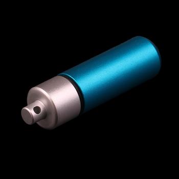 1Pc wodoodporne aluminiowe pudełko na tabletki apteczka pojemnik na butelkę brelok karabinek zewnętrzny futerał na pigułki pillbox Portable tanie i dobre opinie Jiauting Przypadki i rozgałęźniki pigułka Aluminum Alloy Aluminum Pill Box with Keychain