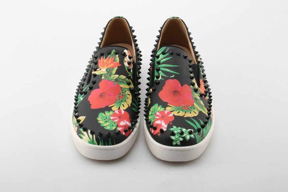 As Métal Impression Graffiti as Beertola Chaussures Palm Décoration Pour Designers Coloré Waterprool Homme En Hommes Picture Picture Rond Bout 5 v8wP0OmnNy