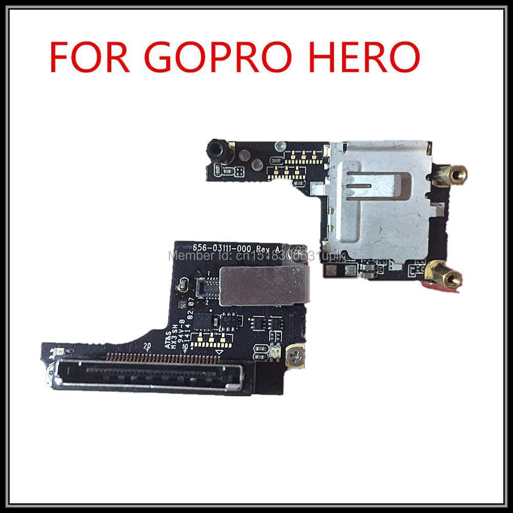 100% Original Gopro Hero3 + tablero de tarjeta Cámara Fuselaje - Cámara y foto