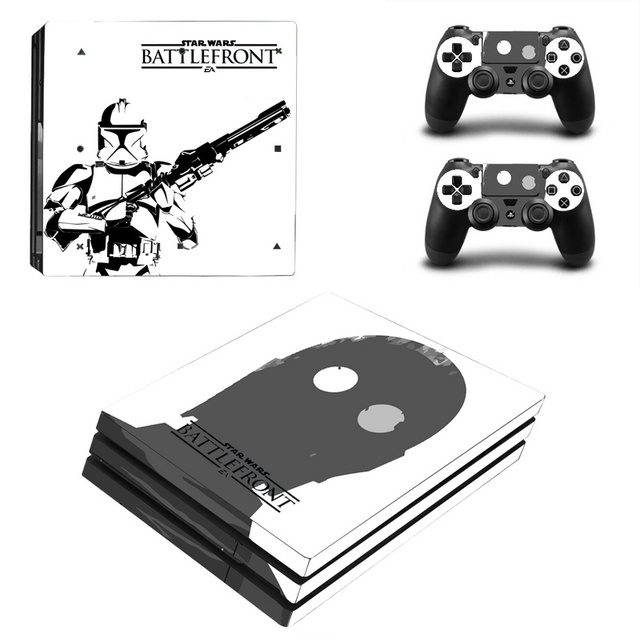 Star Wars Decal Skin Cover For Playstaion 4 Console PS4 Skin Stickers+2Pcs Controller Protective Skins For PS4 Pro Accessories 4