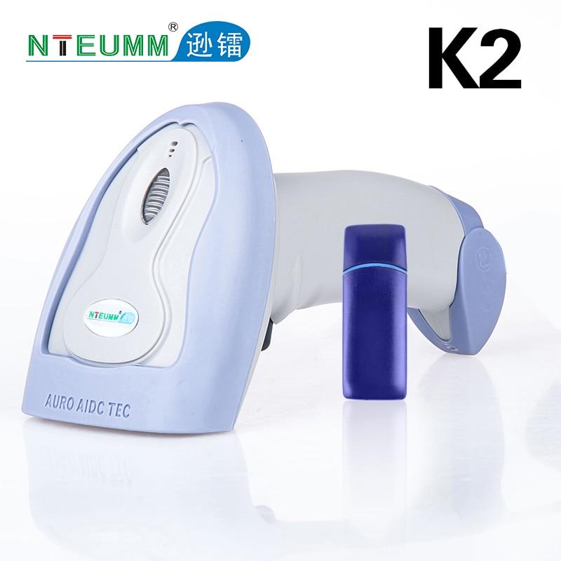 2017 neue k2 wireless scanner wireless barcode scanner pistole mit lagermöglichkeiten supermarkt express special