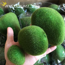 6pcs/bag S+M+L Artificial Moss Stones Grass Bryophytes Plant Pot Bonsai Home Garden Decoration DIY Potted(China)
