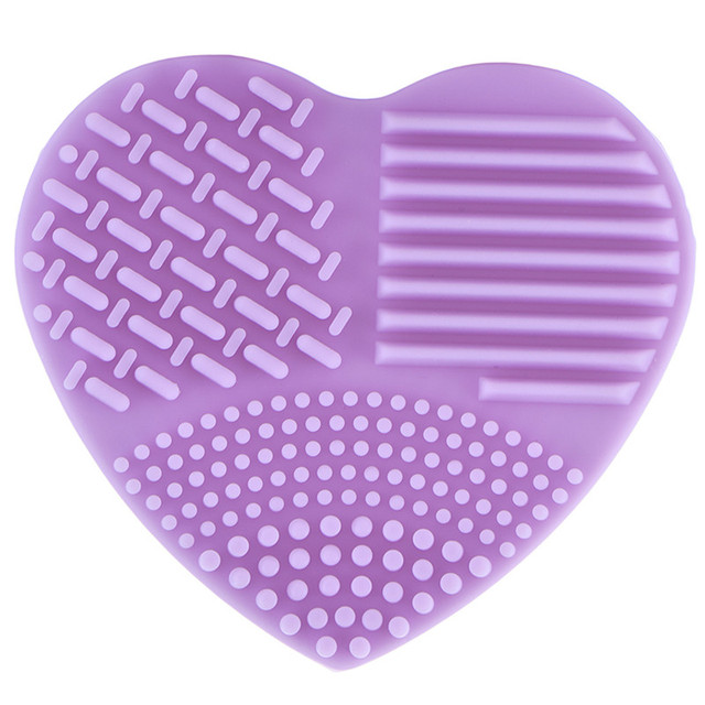 Heart Shape Make up Brushes Cleaning Scrubber 5