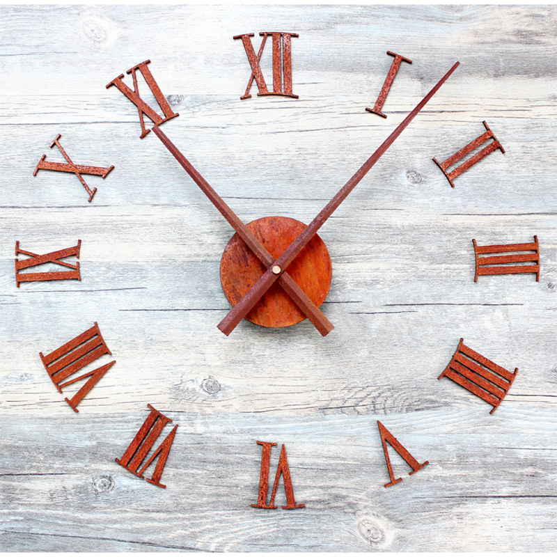 Պատի ժամացույց Saat Reloj Clock Duvar saati Relogio de - Տնային դեկոր - Լուսանկար 1