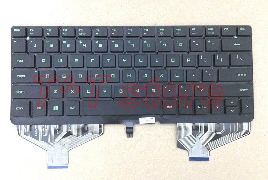 Новый оригинальный для RAZER Blade 2014 RZ09 RZ09 0102 RZ09 0130 RZ09 0168 0099 Клавиатура ноутбука Американский язык Тесты хорошее Бесплатная доставка