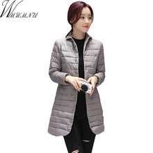 Wmwmnu Wide-waisted Full Real Special Offer Winter Jacket Women 2017 Thin Padded Coat Out Wear Warm Parka Jaquetas Feminina