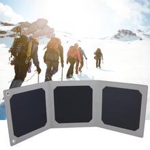 Солнечное зарядное устройство для телефона 9W 5V 1.5A Гибкое зарядное устройство для солнечных