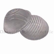 2pcs 51mm LED Striped Optical Convex Glass Led Lens for Led Spotlight, Car Light and Flashlight цены