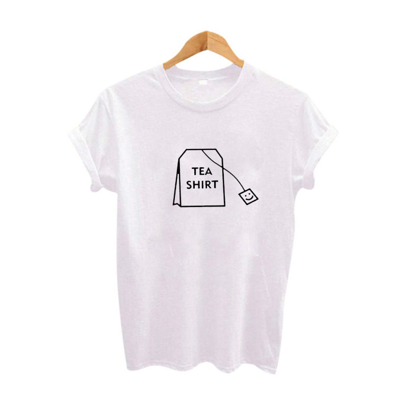 L'humour Thé Shirt Graphique t-shirts Vêtements Pour Femmes 2017 D'été Drôle t shirts Harajuku Tumblr Hippie Dames T-shirt