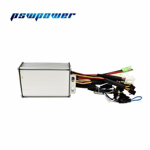 Image 3 - 24V/36V 250W 15A  Brushless DC Sine Wave ebike Electric Bicycle Hub Motor Controller with right output
