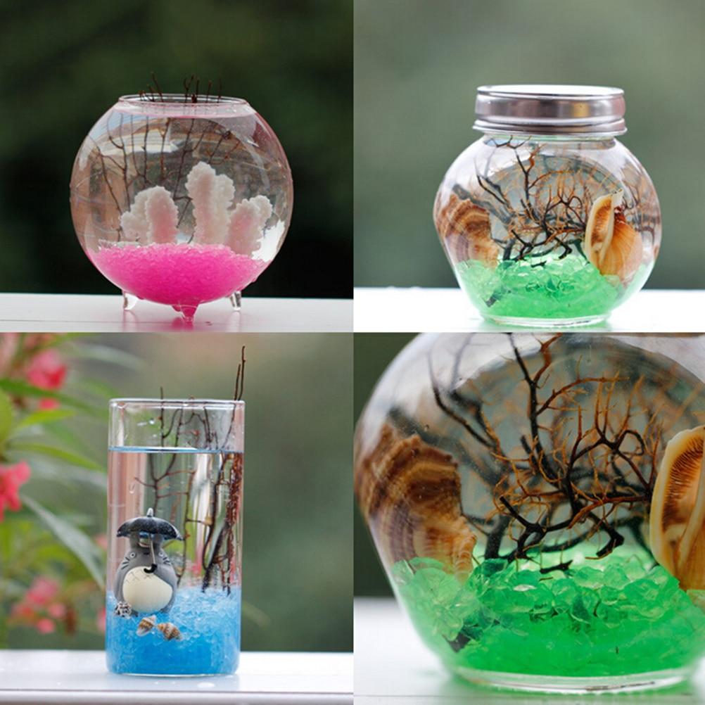 DIY Craft Ornaments One Bag River Sands Fantasy Miniatures Lovely Fairy Garden Gnome Moss Terrarium Decoration