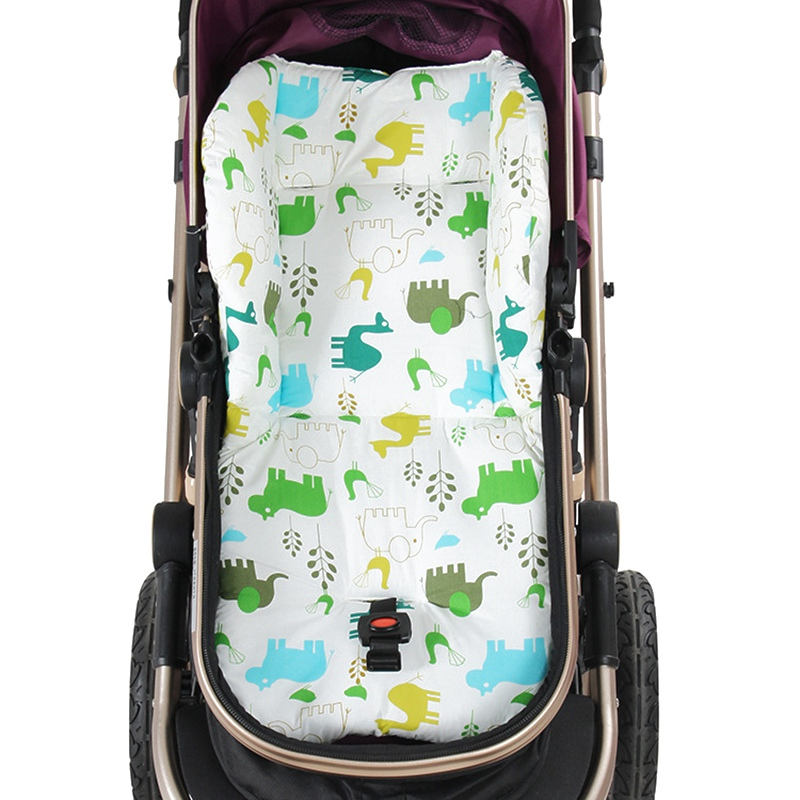 Mother & Kids Cartoon Baby Chair Cushion Baby Stroller Baby Carriage Umbrella Stove Warm Blanket Cartoon Elephant Comtable Accessories Strollers Accessories