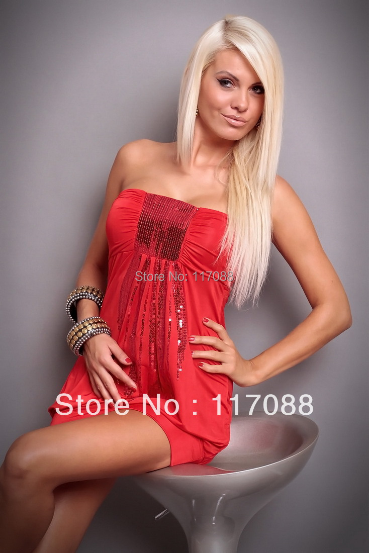 Popular Red Mini Dress-Buy Cheap Red Mini Dress lots from China ...