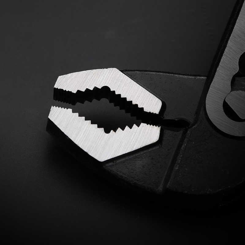 새로운 워터 펌프 펜치 파이프 렌치 배관 조합 펜치 유니버설 렌치 그립 파이프 렌치 배관공 핸드 툴