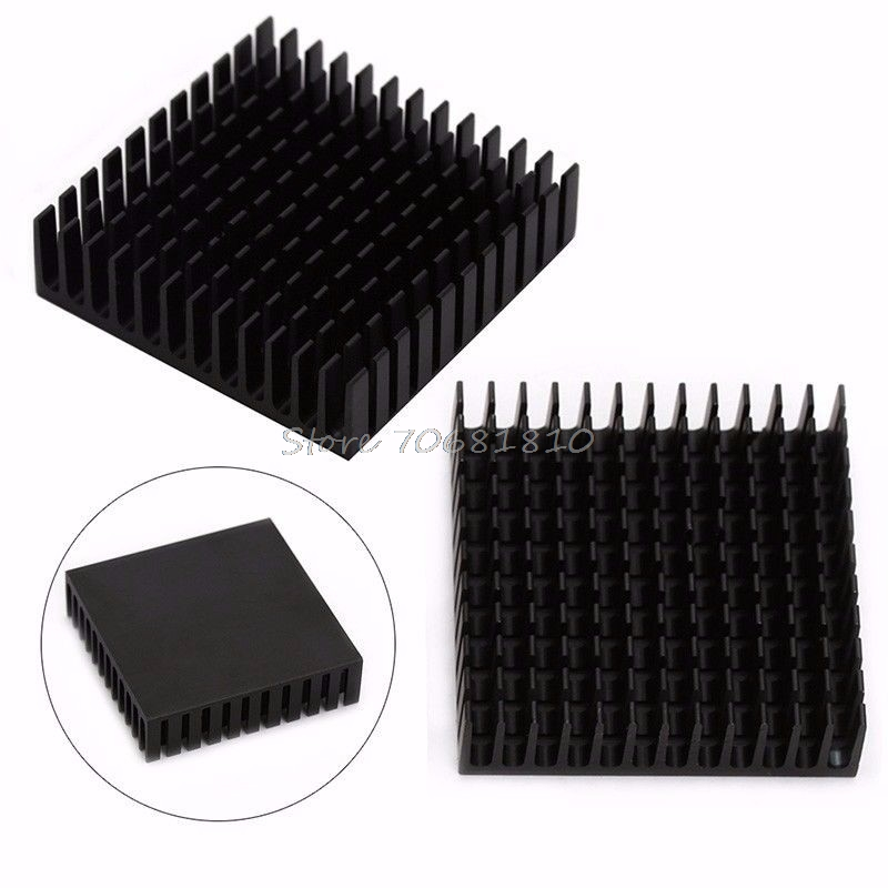 2Pcs Radiator Aluminum Heatsink Extruded Profile Heat Dissipation For Electronic Z09 Drop ship 1