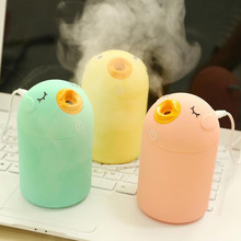 Cute Cartoon Bird USB Utrasonic Air Humidifier Mini Essential Oil Aroma Diffuser Aromatherapy Home Office Car