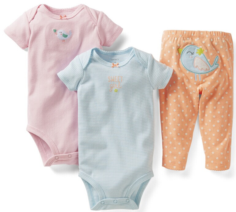Children three-piece, two pieces of clothing, a pair of pants. Boys and girls baby suits, baby cotton suit. High-end suits a cat a hat and a piece of string