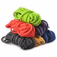 5mm*5/10m Outdoor Natural Latex Rubber Tube Stretch Elastic Slingshot Replacement Band Catapults Sling Rubber