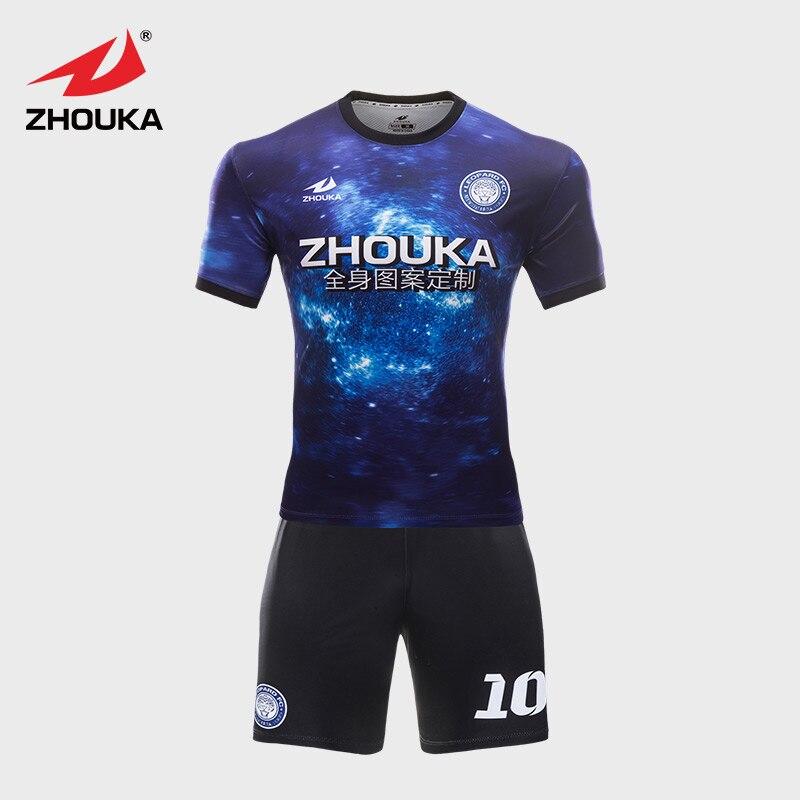 Sky Pattern Football Jersey Uniform Customizing Make This ...