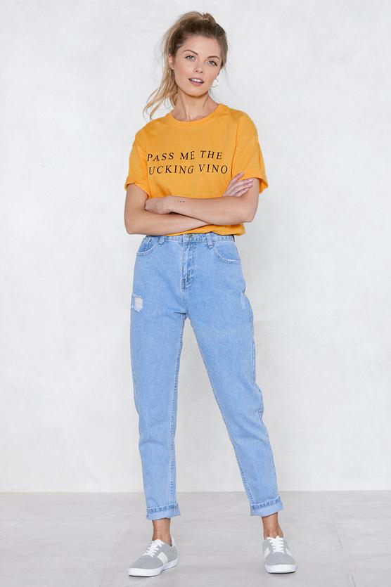 f93704a0b64 Detail Feedback Questions about Pass Me The Vino Yellow Clothes T ...