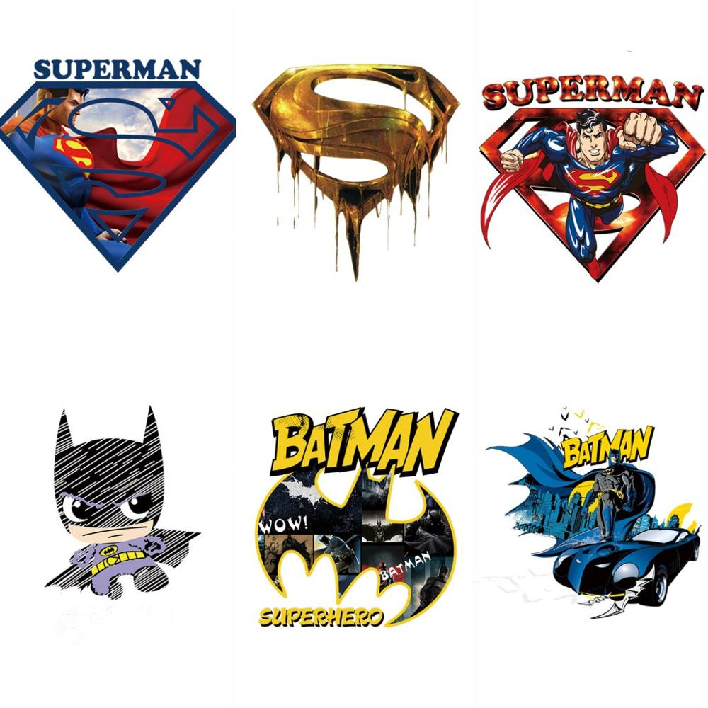 Superman Logo Emblem Patch Embroidered Iron on applique Badge Comic Super Hero