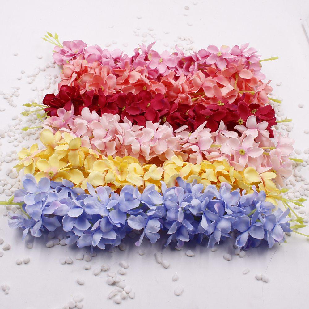 1pcs/lot New 9 Colors 35CM Length Silk Artificial Hydrangea Flower ...