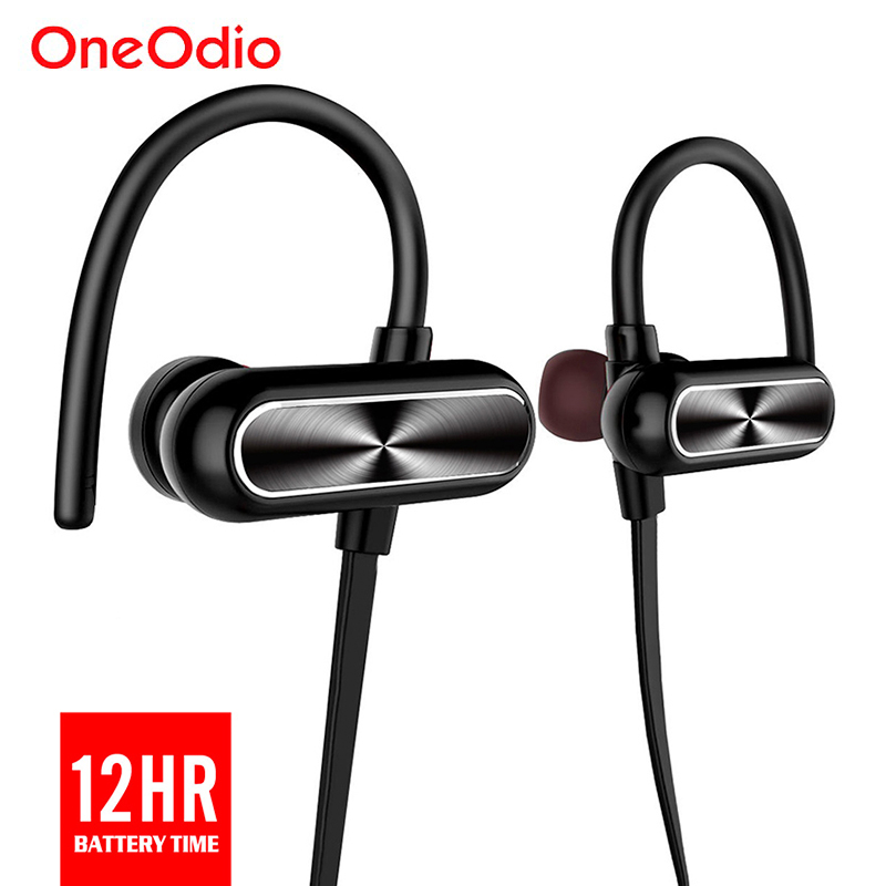 Oneodio Sports Earphones 4.1 Bluetooth Wireless Headset Stereo Waterproof Earbuds Headphone For iPhone Samsung Xiaomi With Mic bluetooth sunglasses sun glasses wireless bluetooth headset stereo headphone with mic handsfree for iphone samsung huawei xiaomi