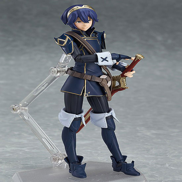 Fire Emblem: Awakening Figma 245 Luqina PVC Action Figure Collectible Model Toy 14cm super sonico supersonico movable figma figma ex 023 pvc action figure collectible model toy children toy gift with box