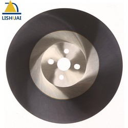 Industrial Quality M42 Material Circular Hss Saw Blades ALTIN coating 275*32*1.6mm BW teeth for Stainless Steel Pipe