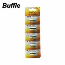 5pcs/pack Buffle 4LR44 6V Dry Alkaline Battery Disposable Batteries For Car Alarm Remote Digital Camera