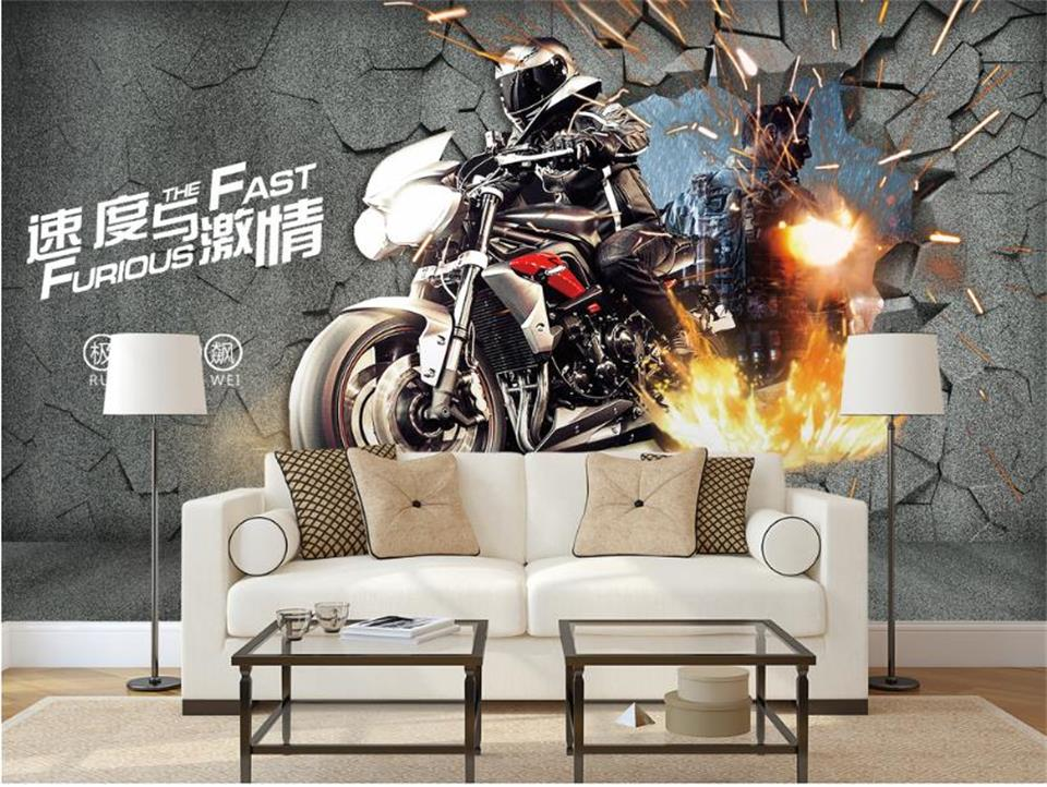3d wallpaper photo wallpaper custom size mural living room 3d painting speed and limit motorcycle bar background wall wallpaper custom 3d wall mural wallpaper modern european style living room bedroom ceiling fresco background 3d photo wallpaper painting