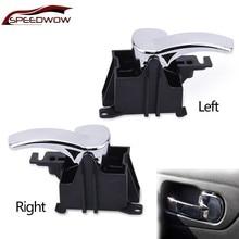 SPEEDWOW Car Interior Door Handle Front Rear Left Right For Nissan Pathfinder Navara D40 80670-4X02B 80671-4X02B